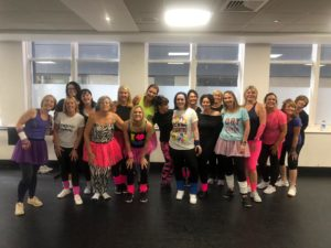 commercial hen party dance class